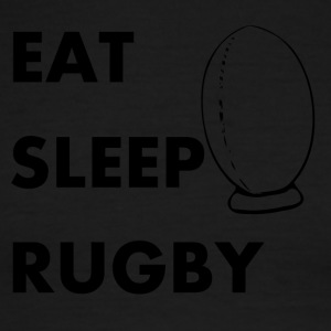 Eat Sleep Rugby - Men's Ringer T-Shirt