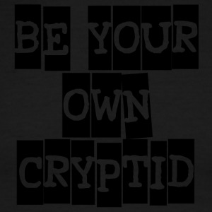 Be Your Own Cryptid - Men's Ringer T-Shirt