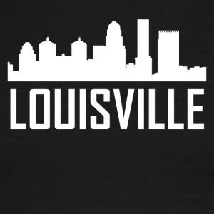Louisville Kentucky City Skyline - Men's Ringer T-Shirt