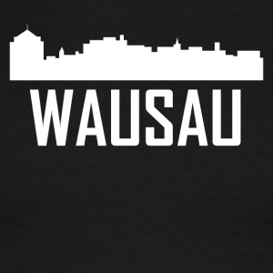Wausau Wisconsin City Skyline - Men's Ringer T-Shirt