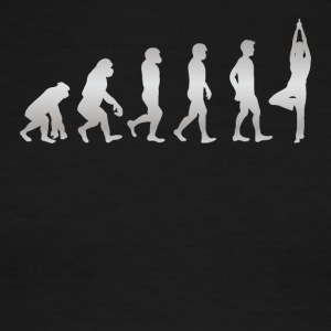 It s Just Evolution Yoga - Men's Ringer T-Shirt
