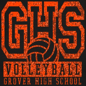 VOLLEYBALL GROVER HIGH SCHOOL GHS - Men's Ringer T-Shirt