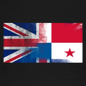 British Panamanian Half Panama Half UK Flag - Men's Ringer T-Shirt