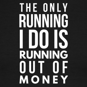 Running out of money - Men's Ringer T-Shirt
