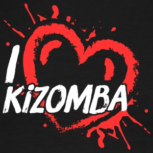 Kizomba_heart - Men's Ringer T-Shirt