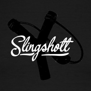 Exclusive Slingshott Logo - Men's Ringer T-Shirt
