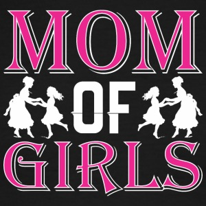 Mom Of Girls - Men's Ringer T-Shirt