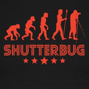 Retro Shutterbug Evolution - Men's Ringer T-Shirt