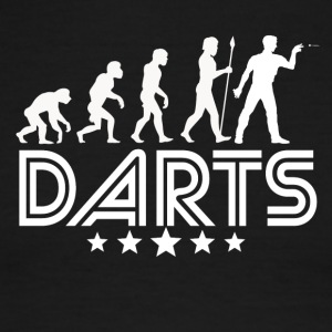 Retro Darts Evolution - Men's Ringer T-Shirt
