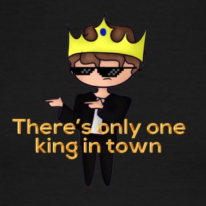 The Only King - Men's Ringer T-Shirt