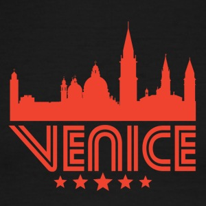 Retro Venice Skyline - Men's Ringer T-Shirt