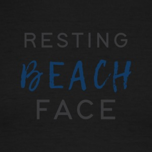Resting Beach Face - Men's Ringer T-Shirt