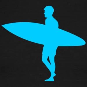 Blue Surfer - Men's Ringer T-Shirt