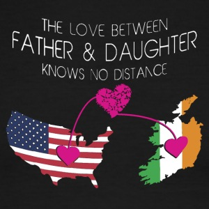The Love Between Father And Daughter - Men's Ringer T-Shirt