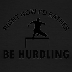 Hurdling design - Men's Ringer T-Shirt