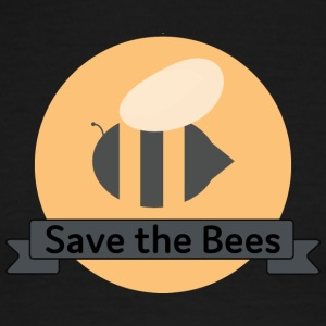 Save the Bees - Men's Ringer T-Shirt