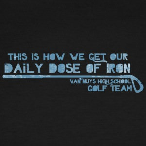 This Is How We Get Our Daily Dose Of Iron Van Nuys - Men's Ringer T-Shirt