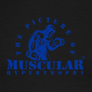 THE PICTURE OF MUSCULAR HYPERTROPHY - Men's Ringer T-Shirt