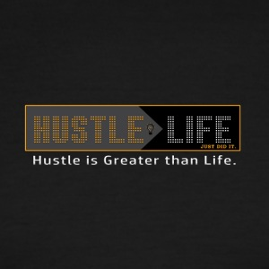 Hustle_Life - Men's Ringer T-Shirt