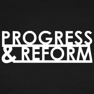 Progress and Reform - Men's Ringer T-Shirt