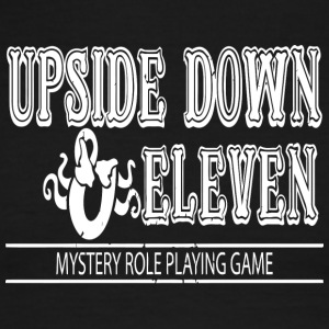 Upside Down and Eleven - Men's Ringer T-Shirt