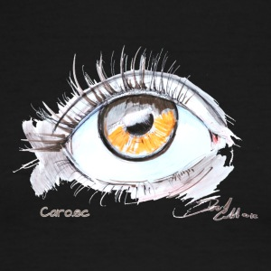 Caro.ec - Eye - Men's Ringer T-Shirt