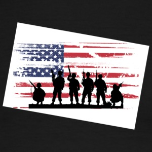 military - Men's Ringer T-Shirt