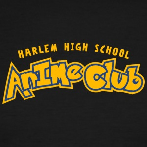 HARLEM HIGH SCHOOL ANIME CLUB - Men's Ringer T-Shirt
