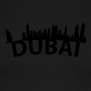Arc Skyline Of Dubai United Arab Emirates - Men's Ringer T-Shirt