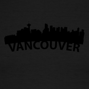 Arc Skyline Of Vancouver British Columbia Canada - Men's Ringer T-Shirt