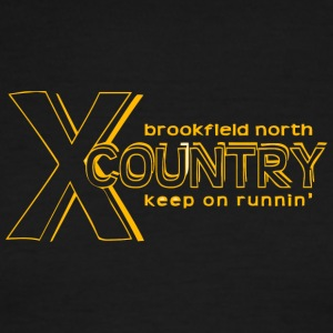 brookfield north keep on runnin - Men's Ringer T-Shirt