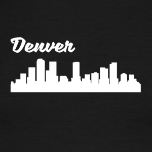 Denver CO Skyline - Men's Ringer T-Shirt