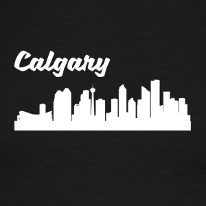 Calgary Skyline - Men's Ringer T-Shirt