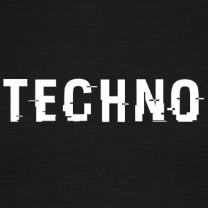 Techo Hacked White - Men's Ringer T-Shirt