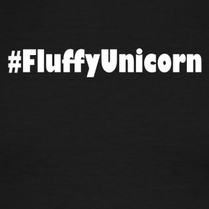 fluffy unicorn einhorn rainbow white - Men's Ringer T-Shirt