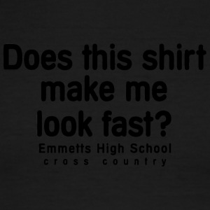 Emmetts High School cross country - Men's Ringer T-Shirt