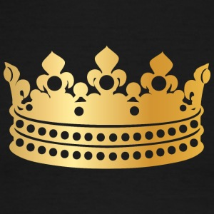 Royal golden crown king prince monarch cool art - Men's Ringer T-Shirt