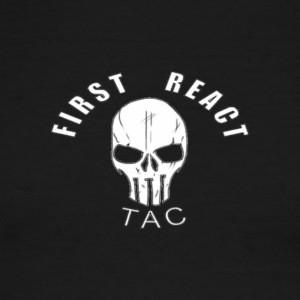 First React Tac Logo - Men's Ringer T-Shirt