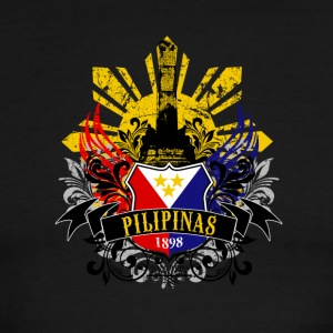 PILIPINAS 1898. Philippines Year of Independence - Men's Ringer T-Shirt