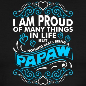 Im Proud Of Many Thing In Life Papaw - Men's Ringer T-Shirt
