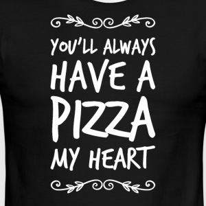 you'll always have a pizza - Men's Ringer T-Shirt