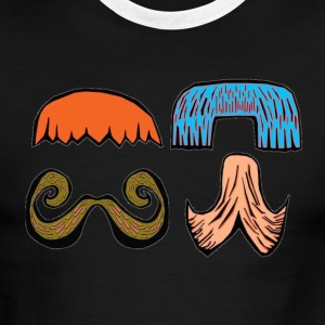 Mustache Party - Men's Ringer T-Shirt