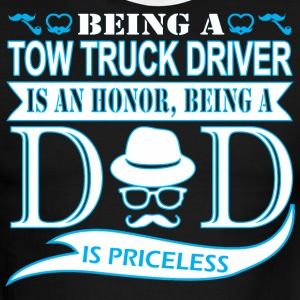 Being Tow Truck Driver Honor Being Dad Priceless - Men's Ringer T-Shirt