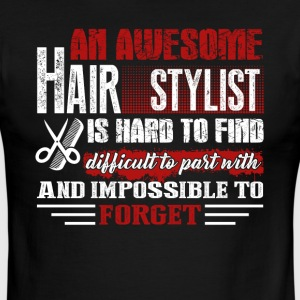 Hair Stylist Tee Shirt - Men's Ringer T-Shirt