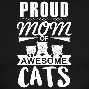 Mom of awesome cats - Men's Ringer T-Shirt