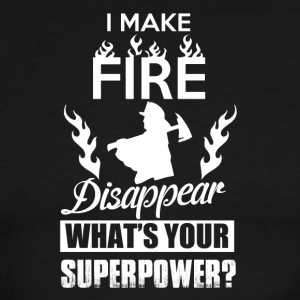 I make fire disappear, what's your superpower? - Men's Ringer T-Shirt