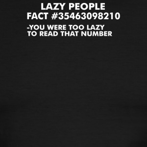 Lazy People - Men's Ringer T-Shirt