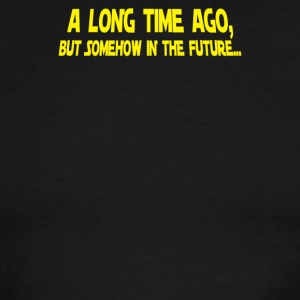 A Long Time Ago But Somehow In The Future - Men's Ringer T-Shirt