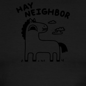 Hay Neighbor - Men's Ringer T-Shirt