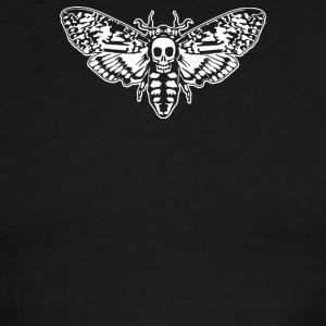Deaths Head Moth - Men's Ringer T-Shirt